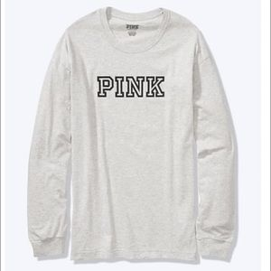 VS Pink campus tee new